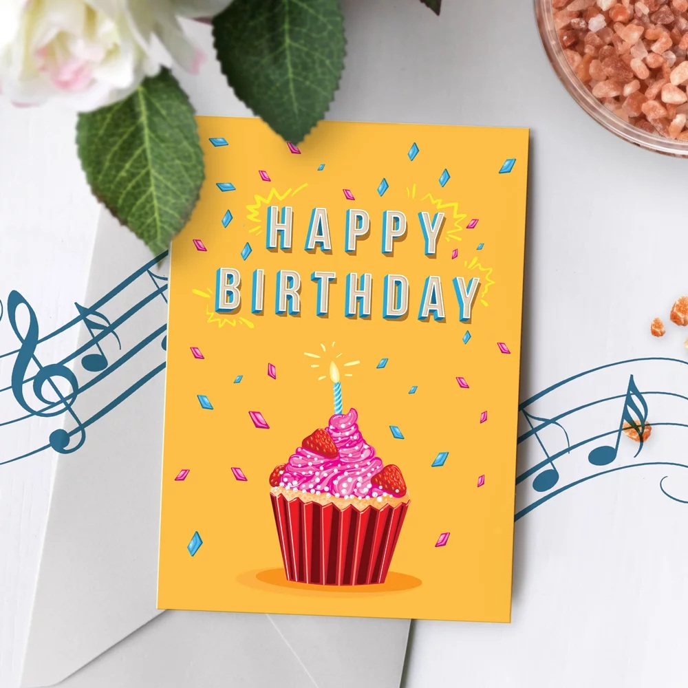 Amazing 120S Birthday Card Happy Birthday Musical Greeting Singing Music Personalised Birthday Cards Cominlily Jamesorg