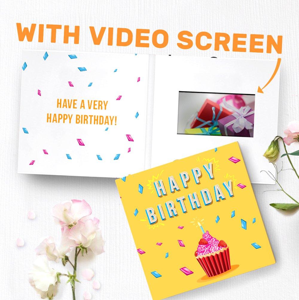 Birthday Video Greeting Card Birthday Greeting Card 43 Lcd