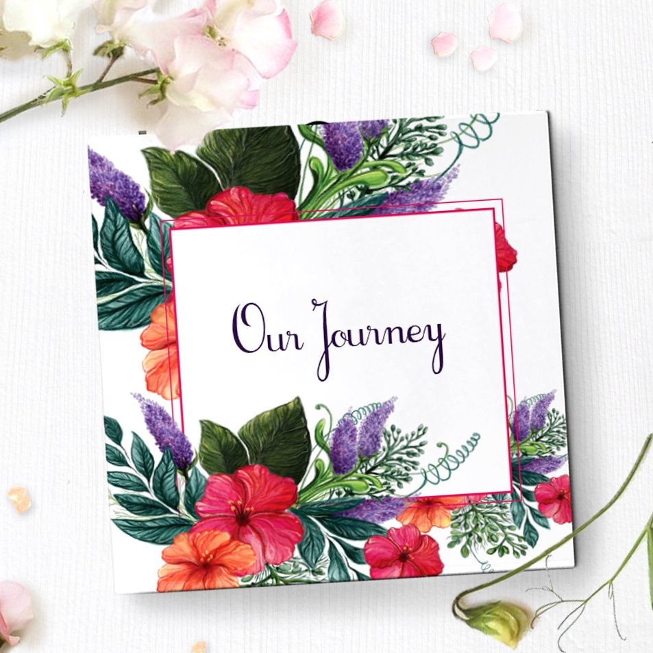 Anniversary Photo Album Video Greeting Card Anniversary Gift 43