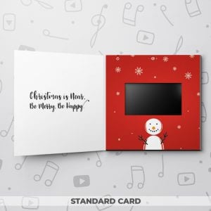Snowman – Christmas Video Greeting Card