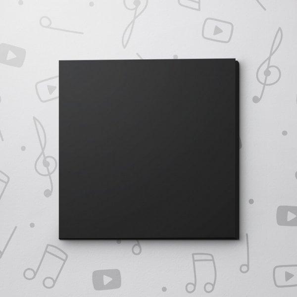 Blank Video Greeting Card - Black