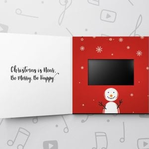 Blank Musical Greeting Card - 5 x 7