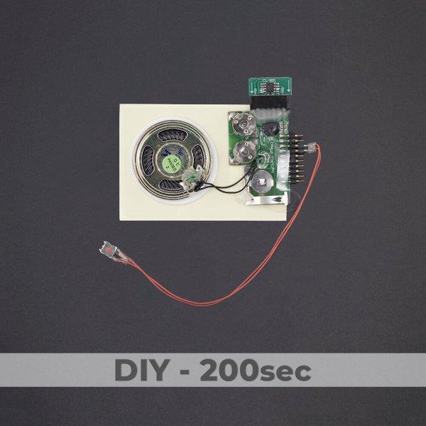DIY Kit - Push Button Sound Module - 200 Sec