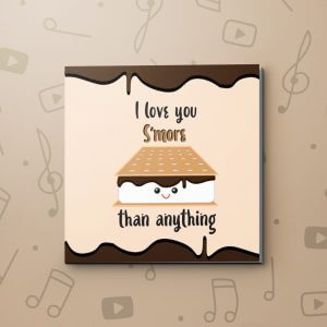 S'more Love – Love Video Greeting Card