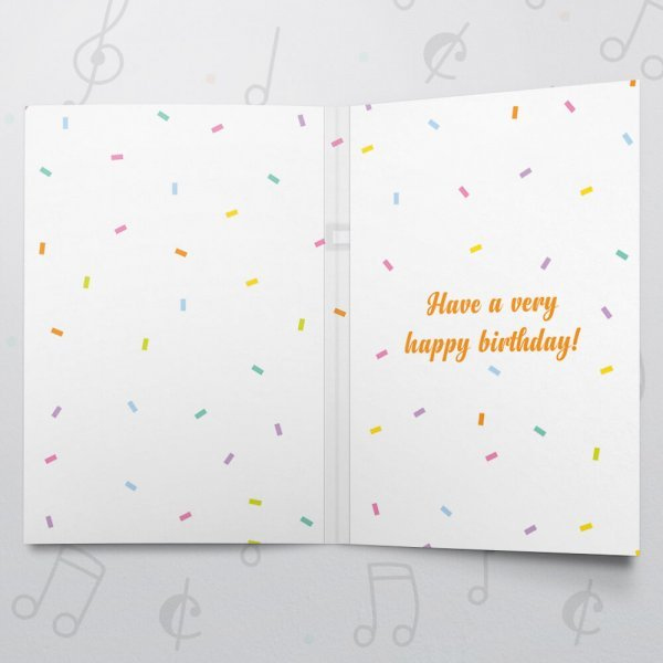 Birthday Presents – Musical Birthday Card