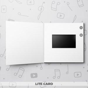 Blank Video Greeting Card