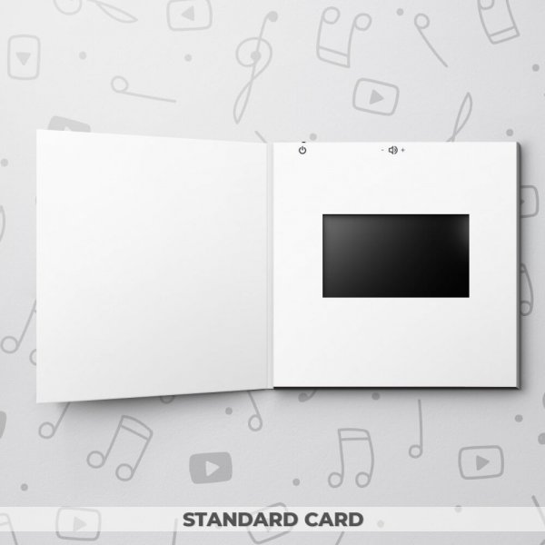 Blank Video Greeting Card