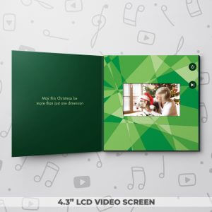 Green Christmas Reindeer – Christmas Video Greeting Card