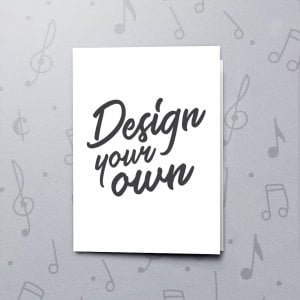 Design Your Own Greeting Card