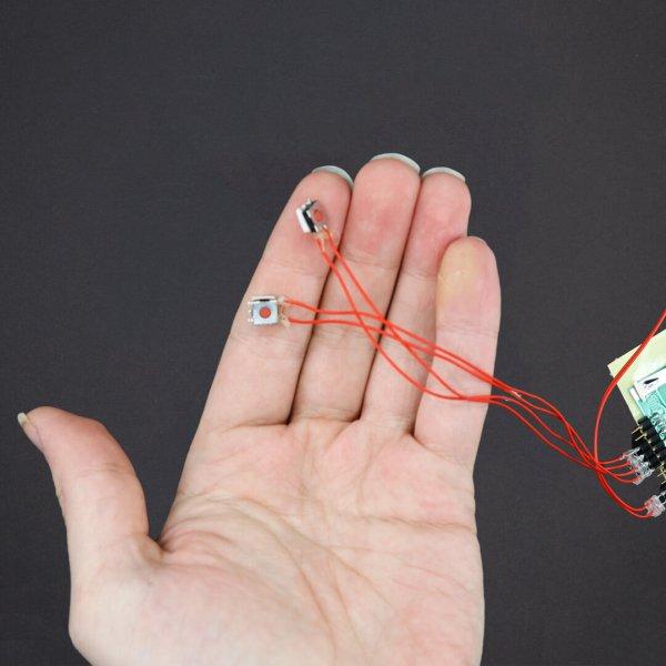 DIY Kit - Light Activated Sound Module + 2 Push Buttons - 200 Sec