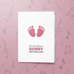 Child Loss – Musical Sympathy Card