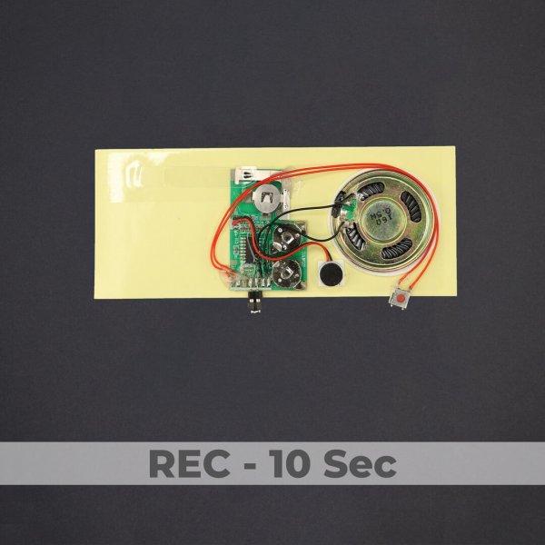 Greeting Card Sound Module - Rec 10 Sec