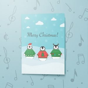 Christmas Penguins – Musical Christmas Card
