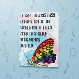 Spread Your Wings – Musical LGBT Card
