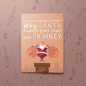 Santa Soot – Musical Christmas Card