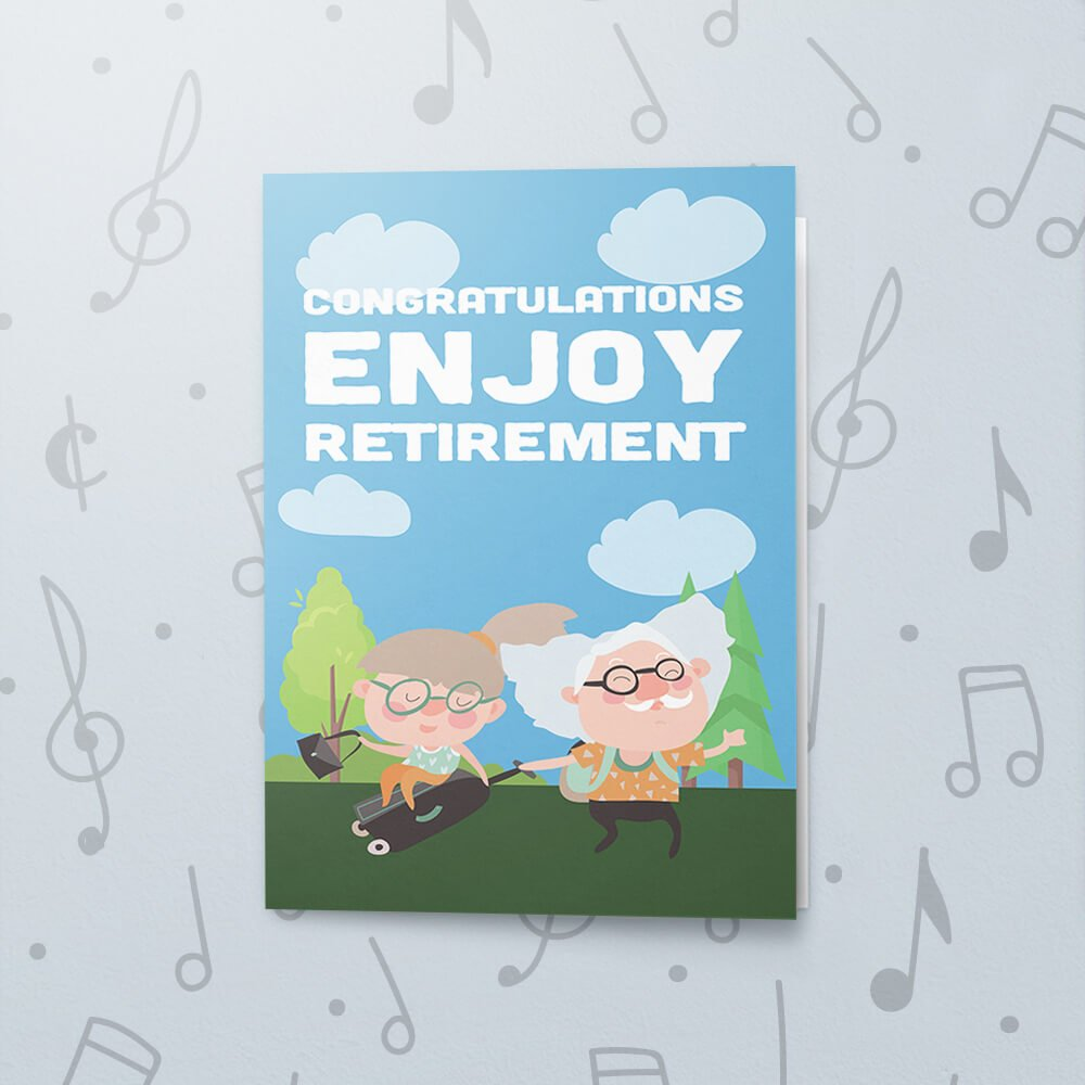what makes you happy  musical retirement card  bigdawgs