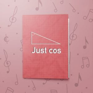 Just Cos – Musical Just Because Card