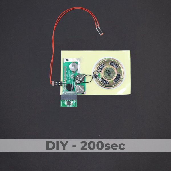DIY Kit - Light Activated Sound Module - 200 Sec