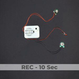 Push Button Stuffed Animal Sound Box - 10 Sec