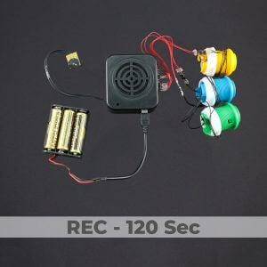 3 Button Sound Box - Rec 120 Sec