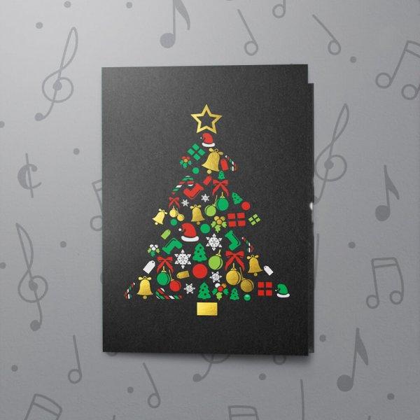 Christmas Tree – Musical Christmas Card