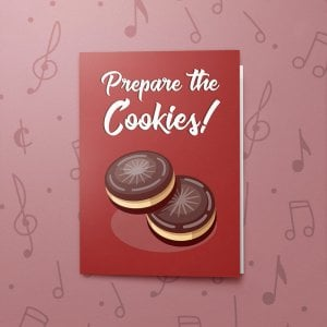 Prepare the Cookies! – Musical Christmas Card