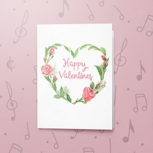Valentines Heart – Musical Valentines Card