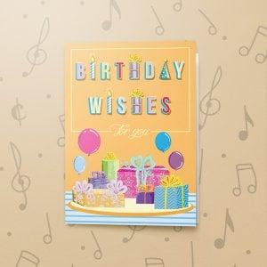 Birthday Wishes – Musical Birthday Card