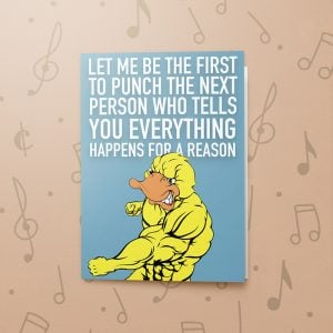 Let Me Be The First – Musical Sympathy Card