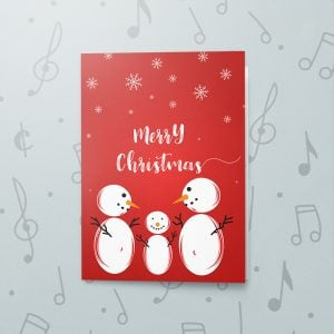 Snowman – Musical Christmas Card
