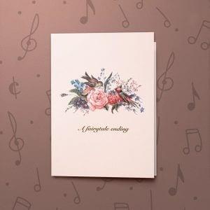A Fairytale Ending – Musical Wedding Card