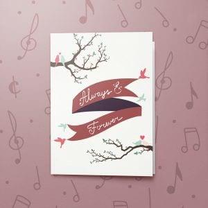 Always & Forever – Musical Love Card