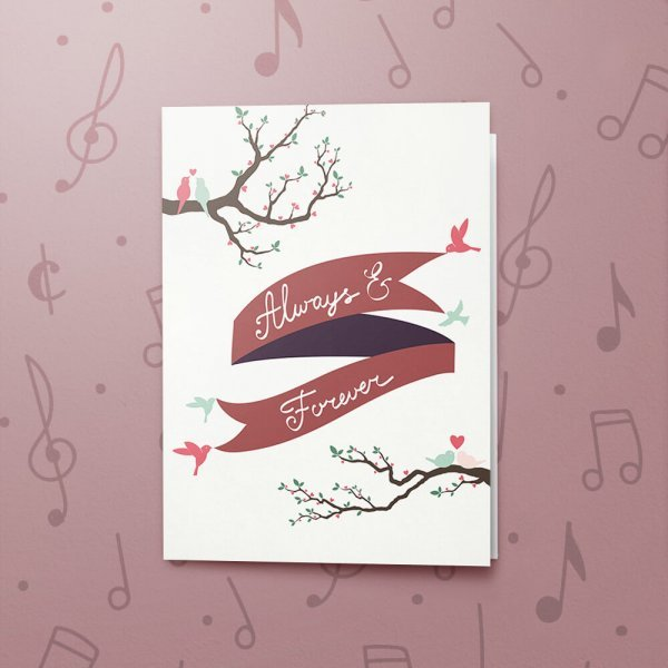 Always & Forever – Musical Love Card