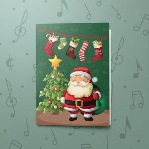 Merry Santa – Musical Christmas Card