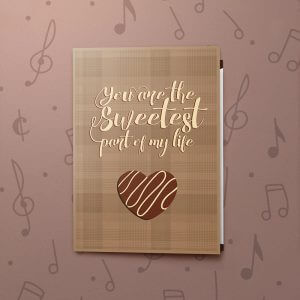 The Sweetest – Musical Valentines Card