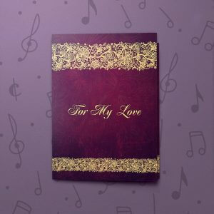 For My Love - Welcome to my life – Musical Love Card