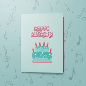 Funny Mean Birthday – Musical Birthday Card