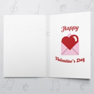 Unread Message – Musical Valentines Card