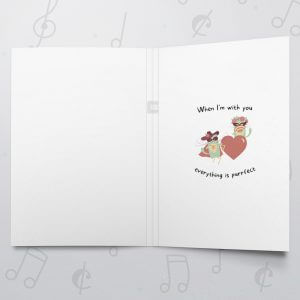 Purrfect – Musical Love Card
