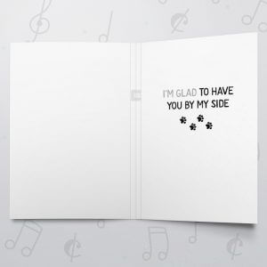 Quite Fetching – Musical Love Card