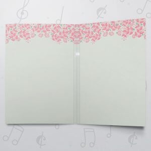 Dreams Come True – Musical Wedding Card
