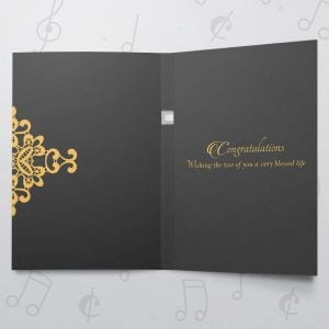 Mr and Mrs – Musical Wedding Card