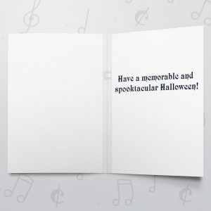 Bat Halloween – Musical Halloween Card