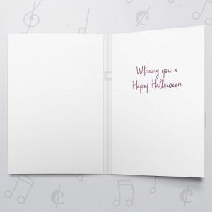 Witching Halloween – Musical Halloween Card