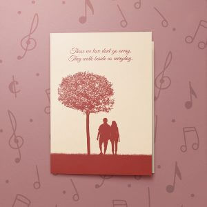 Losing Loved Ones – Musical Sympathy Card