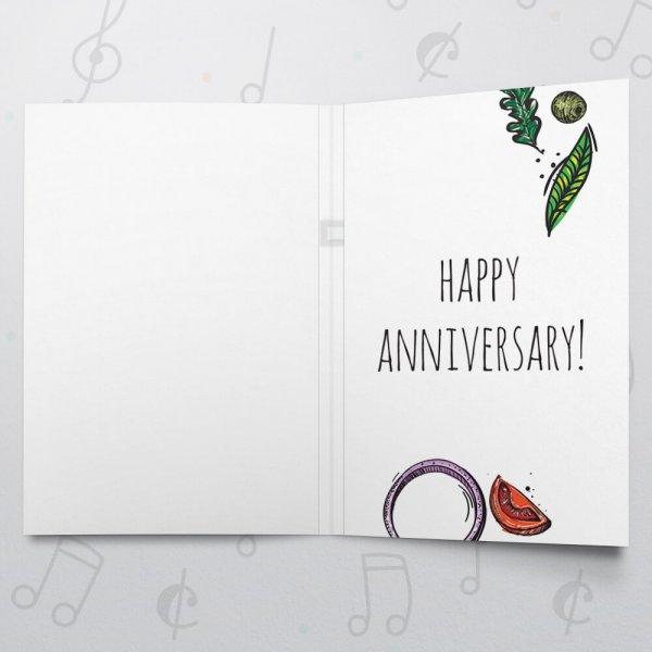 Pizza my Heart (Anniversary) – Musical Wedding Card