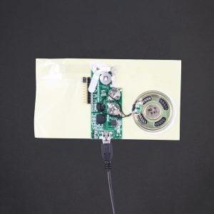 USB Programmed - Greeting Card Sound Module - 200 Sec