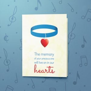 Precious One – Musical Sympathy Card