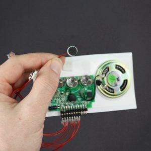 3 Button Sound Module - Rec 120 Sec