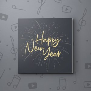 Fireworks – New Year Video Greeting Card